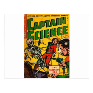 Captain Science Postcard