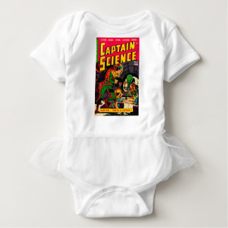 Captain Science -- Vampires: Truth or Fiction? Baby Bodysuit