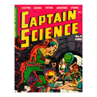Captain Science -- Vampires: Truth or Fiction? Letterhead