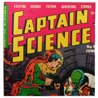 Captain Science -- Vampires: Truth or Fiction? Napkin