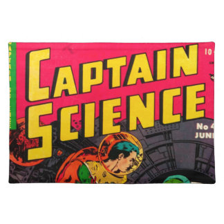 Captain Science -- Vampires: Truth or Fiction? Placemat