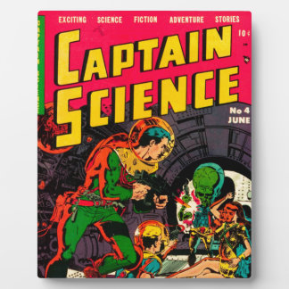 Captain Science -- Vampires: Truth or Fiction? Plaque
