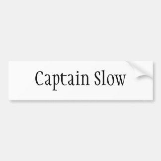 Captain Slow Bumper Sticker