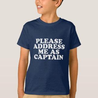 """""""Captain"""" T-Shirt"""