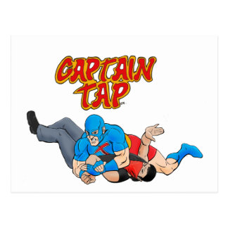 Captain Tap Postcard