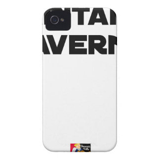 CAPTAIN TAVERN - Word games - François City iPhone 4 Case-Mate Case