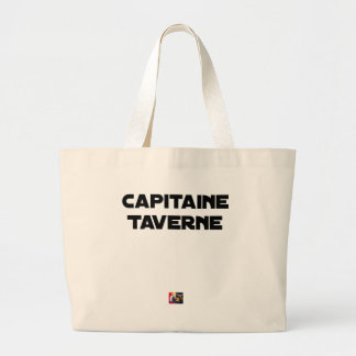 CAPTAIN TAVERN - Word games - François City Large Tote Bag