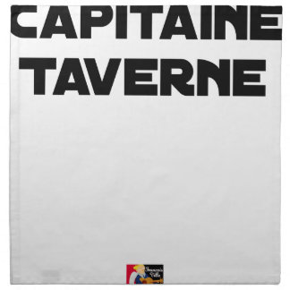 CAPTAIN TAVERN - Word games - François City Napkin