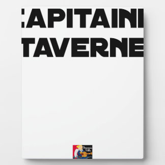 CAPTAIN TAVERN - Word games - François City Plaque