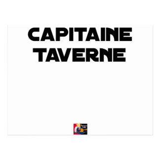 CAPTAIN TAVERN - Word games - François City Postcard