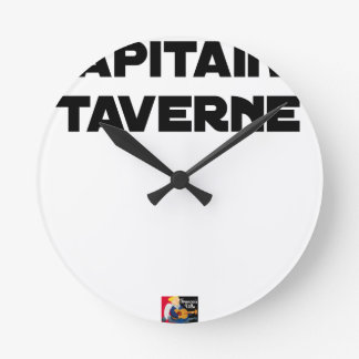 CAPTAIN TAVERN - Word games - François City Round Clock
