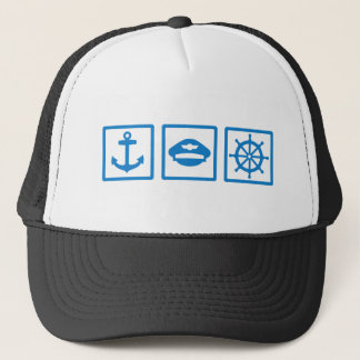 Captain Trucker Hat
