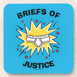 Captain Underpants | Briefs of Justice Coaster