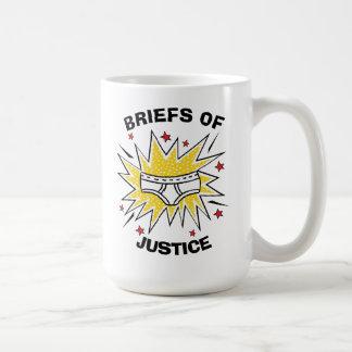 Captain Underpants | Briefs of Justice Coffee Mug