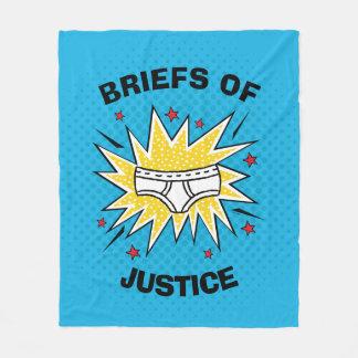 Captain Underpants   Briefs of Justice Fleece Blanket