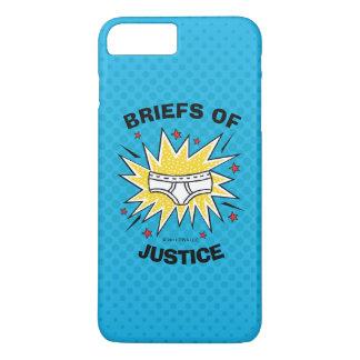 Captain Underpants | Briefs of Justice iPhone 8 Plus/7 Plus Case