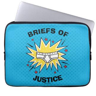 Captain Underpants | Briefs of Justice Laptop Sleeve