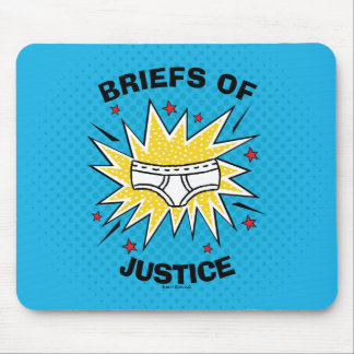 Captain Underpants | Briefs of Justice Mouse Pad
