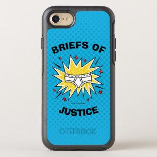 Captain Underpants   Briefs of Justice OtterBox Symmetry iPhone 8/7 Case