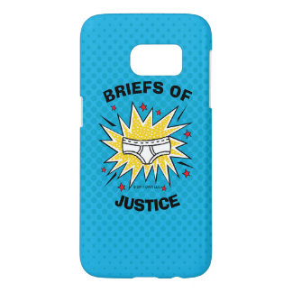 Captain Underpants | Briefs of Justice Samsung Galaxy S7 Case