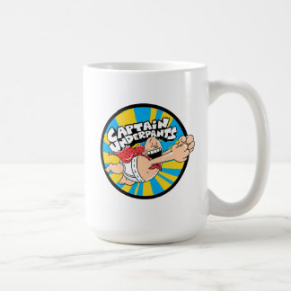Captain Underpants | Flying Hero Badge Coffee Mug