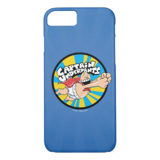 Captain Underpants | Flying Hero Badge iPhone 8/7 Case