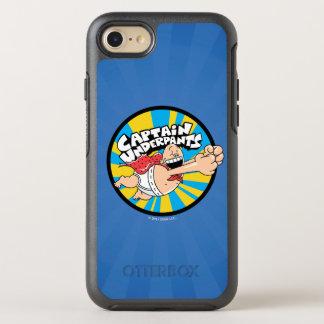 Captain Underpants   Flying Hero Badge OtterBox Symmetry iPhone 8/7 Case