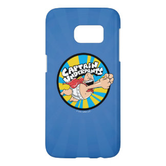 Captain Underpants | Flying Hero Badge Samsung Galaxy S7 Case