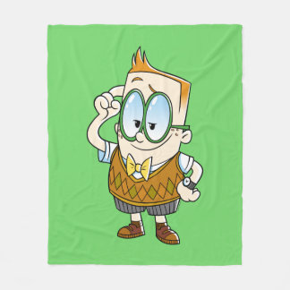 Captain Underpants   Melvin Knows It All Fleece Blanket