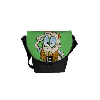 Captain Underpants | Melvin Knows It All Messenger Bags
