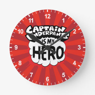 Captain Underpants | My Hero Clock