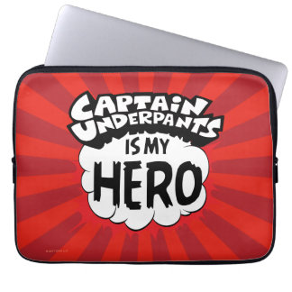 Captain Underpants | My Hero Laptop Sleeve