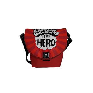 Captain Underpants | My Hero Messenger Bags