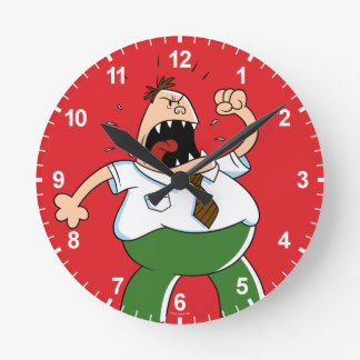 Captain Underpants | Principal Krupp Yelling Clock