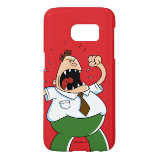 Captain Underpants | Principal Krupp Yelling Samsung Galaxy S7 Case