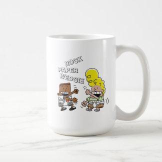 Captain Underpants | Rock Paper Wedgie Coffee Mug