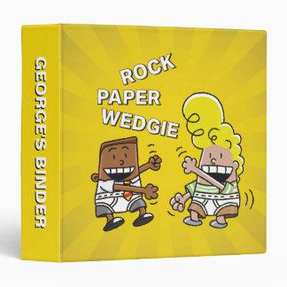Captain Underpants | Rock Paper Wedgie Vinyl Binders
