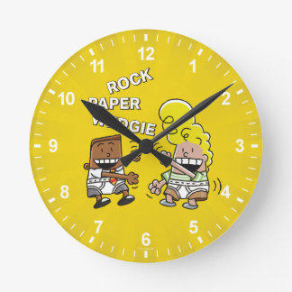 Captain Underpants | Rock Paper Wedgie Wall Clock