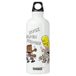 Captain Underpants | Rock Paper Wedgie Water Bottle