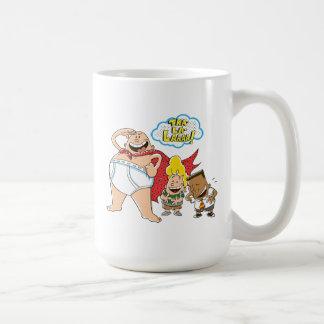 Captain Underpants | Tra-La-Laaaa! Coffee Mug