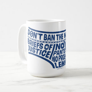 Captain Underpants | Typography Tighty Whities Coffee Mug