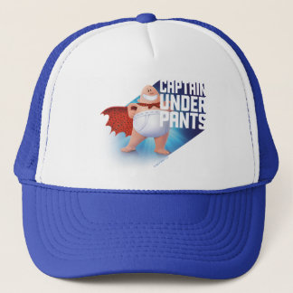Captain Underpants | Waistband Warrior On Roof Trucker Hat