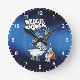 Captain Underpants | Wedgie Power Round Clock
