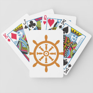 Captain Wheel Bicycle Playing Cards