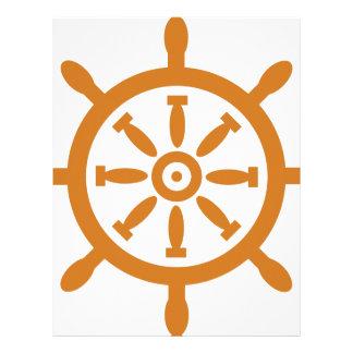 Captain Wheel Letterhead