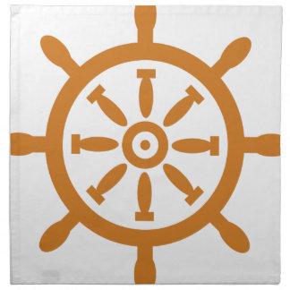 Captain Wheel Napkin