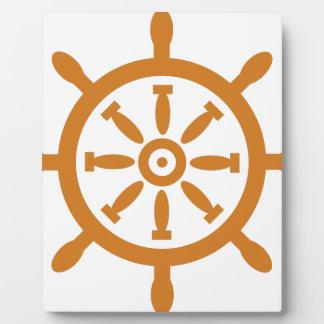 Captain Wheel Plaque