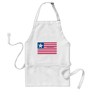 Captain William Brown Flag (Flag of Goliad and Vel Adult Apron