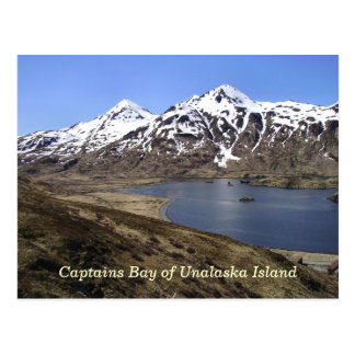 Captains Bay of Unalaska Island Postcard