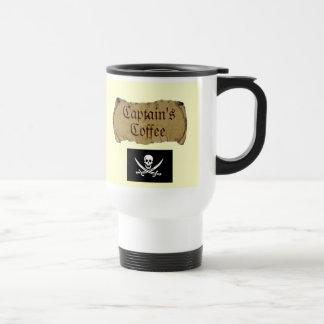 Captain's Coffee v 2.0 Travel Mug